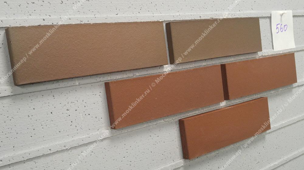 Облицовочная клинкерная плитка Feldhaus Klinker, Carbona, R560NF14, carmesi colori, поверхность расплавленный обжиг
