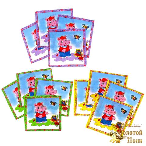 Платок носовой детский (20х20) 191203-PL1063