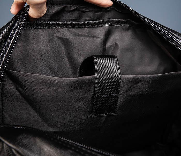 BAG552 Кожаная сумка для поездок с длинными ручками фото 15