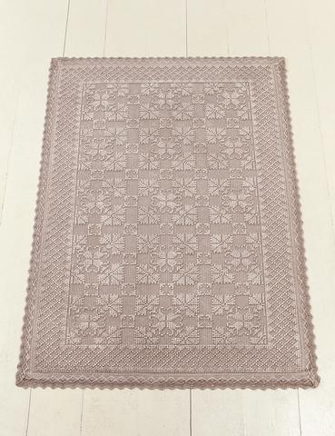 Элитный коврик Vintage 2 розовый от Luxberry