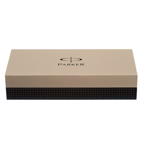 Parker Sonnet - Essential Stainless Steel GT, шариковая ручка, M, BL