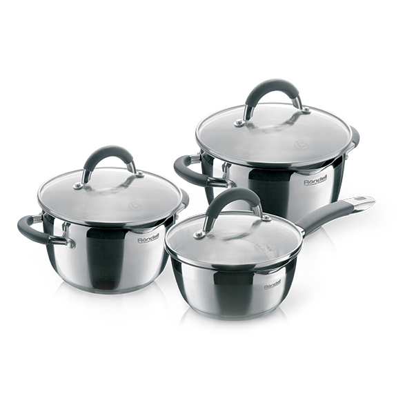 Набор посуды Rondell Flamme 6 предметов RDS-341