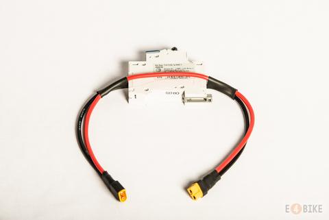 Автоматический выключатель для защиты контроллера