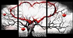 "Модульная картина ""Любовное дерево"""