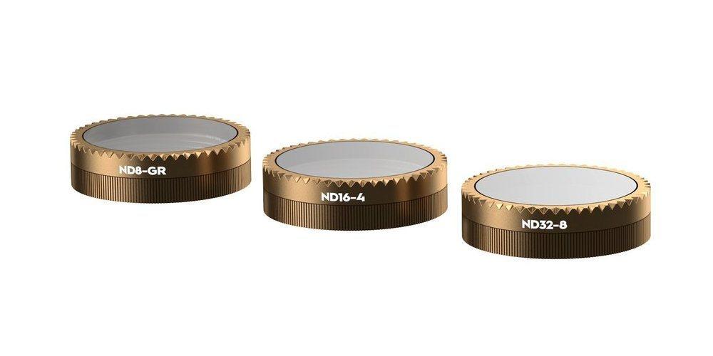 Набор фильтров PolarPro DJI Mavic Air Gradient Collection (ND8-GR, ND16-4, ND32-8) внешний вид фото