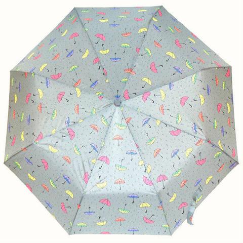 Зонт светло-серого цвета автомат