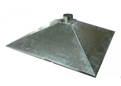 Зонт купольный 1000х500/ф160 мм