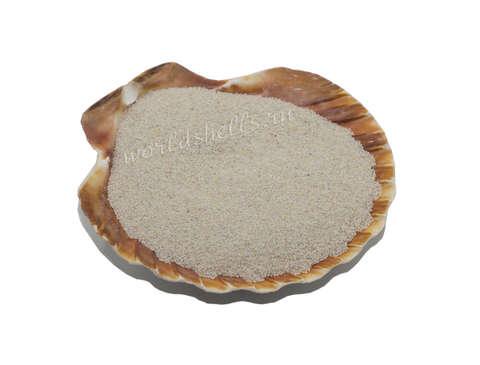 Белый цветной песок 300 гр.
