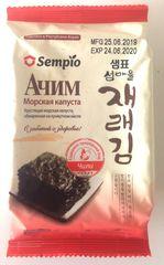 """Морская капуста """"Ачим"""" сушёная со вкусом чили 5гр"""