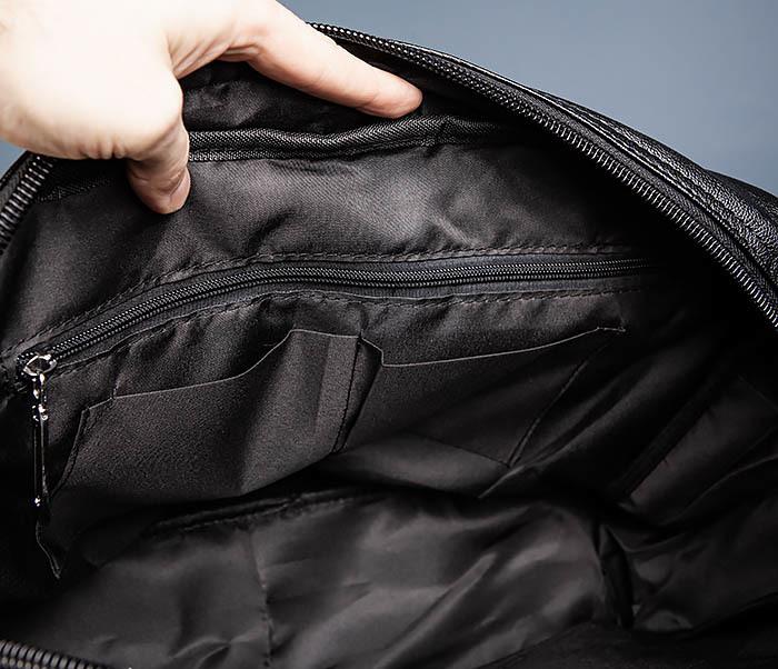 BAG552 Кожаная сумка для поездок с длинными ручками фото 16