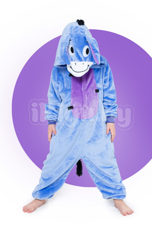 """Детские пижамы кигуруми """"Ослик Иа"""" детки_ослик-иа-1_IGP8283.jpg"""