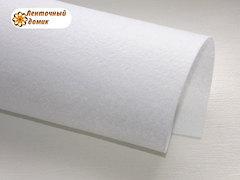 Фетр жесткий толщина 1 мм белый