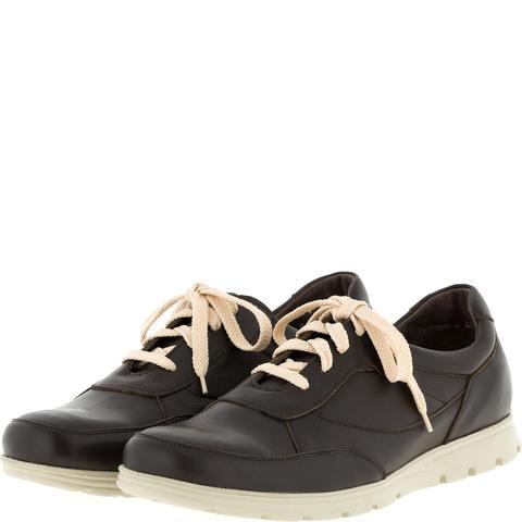 587385 полуботинки мужские Brown кожа. КупиРазмер — обувь больших размеров марки Делфино