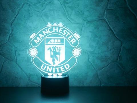 3D светильник Манчестер Юнайтед