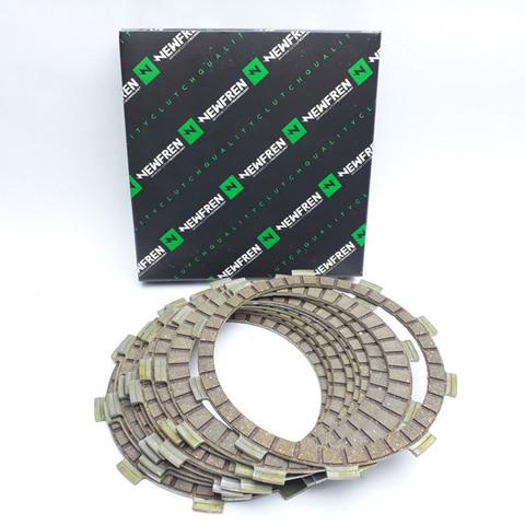 F1665A Комплект фрикционных дисков сцепления для Honda CB, CBF, CBR, VFR, Triumph Street, Tiger