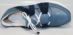 Спортивные туфли на танкетке Ledy West 1484 115 Blue.