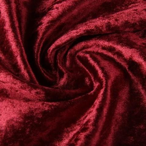 Бархат мраморный на трикотажной основе, ворс 1 мм., бордо