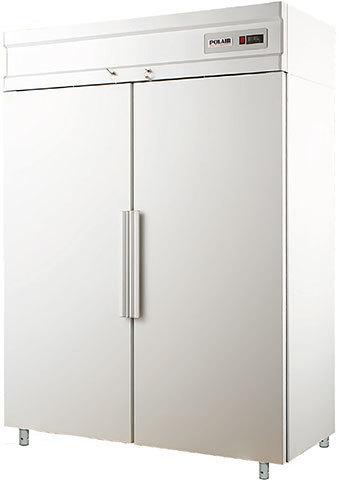 фото 1 Холодильный шкаф  Polair CC214-S (ШХК-1,4(0,7-0,7)) на profcook.ru