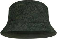 Панама ультралегкая Buff Trek Bucket Hat Checkboard Moss Green