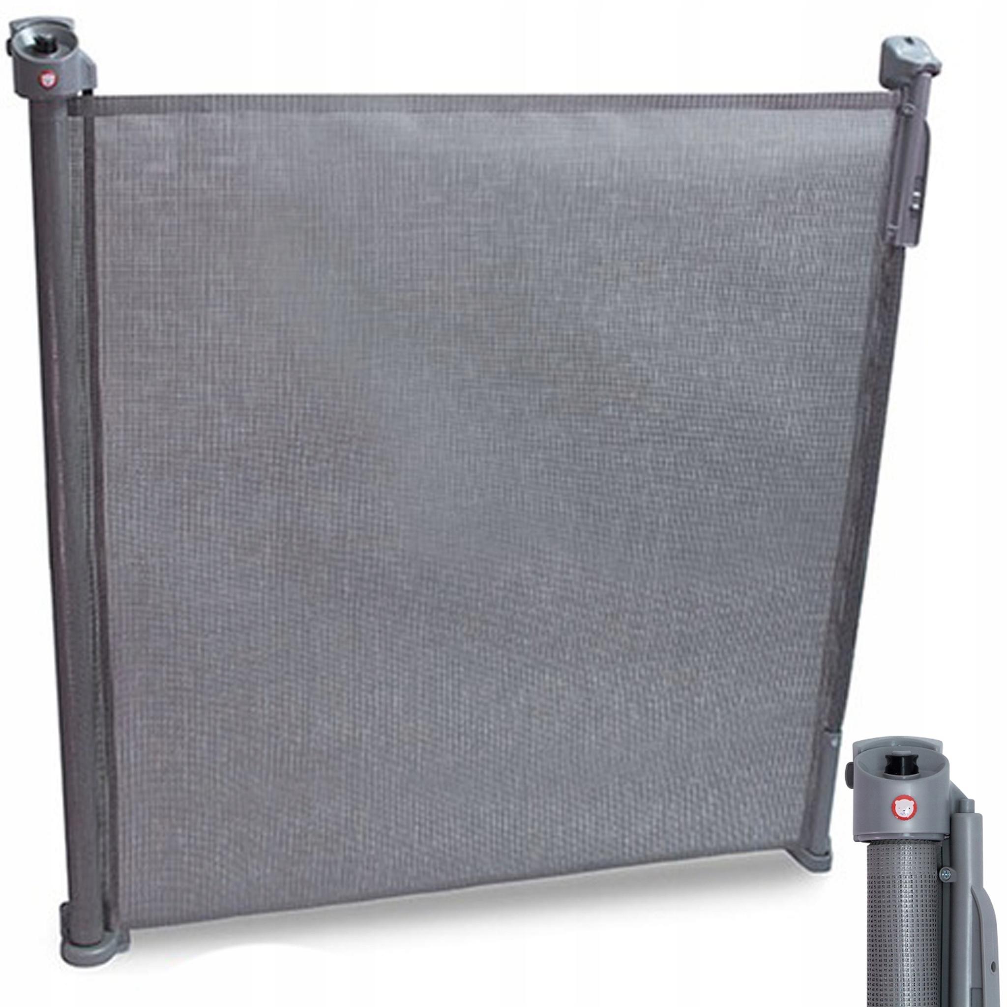 Ворота безопасности Lionelo  LO-Tulia Grey до 140 см  уценка