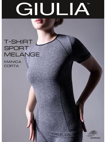 Футболка T-Shirt Manica Corta Sport Melange Giulia