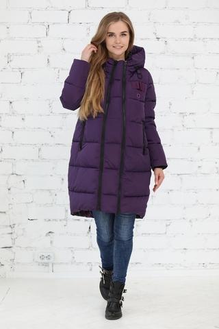 Куртка 2в1 для беременных 10839 фиолетовый