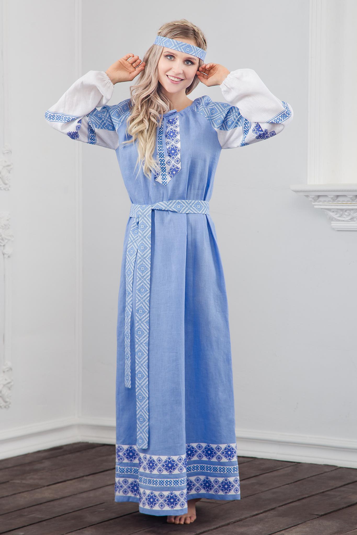 Платье Репейник счастья