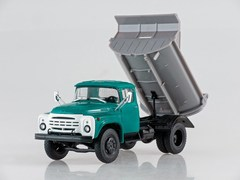 ZIL-MMZ-555 Dumper (late grille) green-gray 1:43 Our Trucks #3 (limited edition)