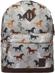 Рюкзак Bagland Молодежный 17 л. сублимация (лошади) (005336640)