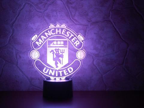 3D лампа Манчестер Юнайтед