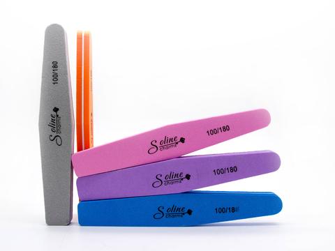 Баф ромбовидный Soline 100/180 (цвета в ассортименте) 1 шт.