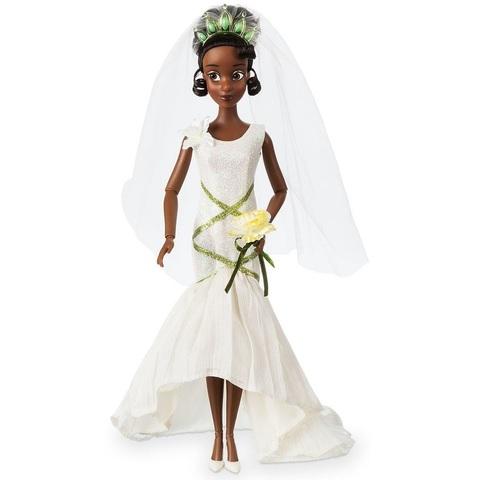 Дисней Принцесса и лягушка Тиана 30 см Свадебная коллекция
