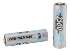 Аккумуляторы NiMH Max-E, AA (1.2V, 2500mAh) 4 шт.