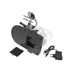 Набор луп с подсветкой Veber S-Clamp 3 с держателем «третья рука»