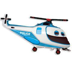 F Мини фигура Вертолет полицейский / Police Helicopter (14