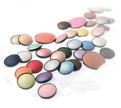 Тени для глаз цвет 043 (Кофейно-коричневый) (Wamiles | Make-up Wamiles | Face The Colors), 1.7 мл.