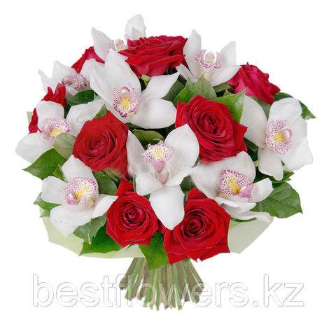 Композиции с орхидеей