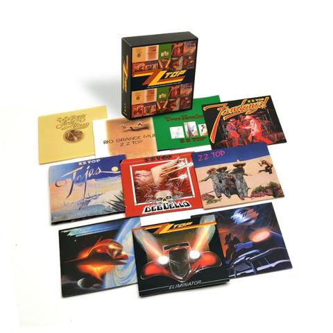 ZZ Top / The Complete Studio Albums 1970-1990 (10CD)