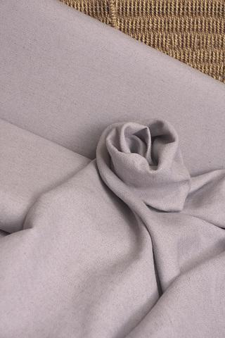 Льняная интерьерная ткань цвет - лавандовый