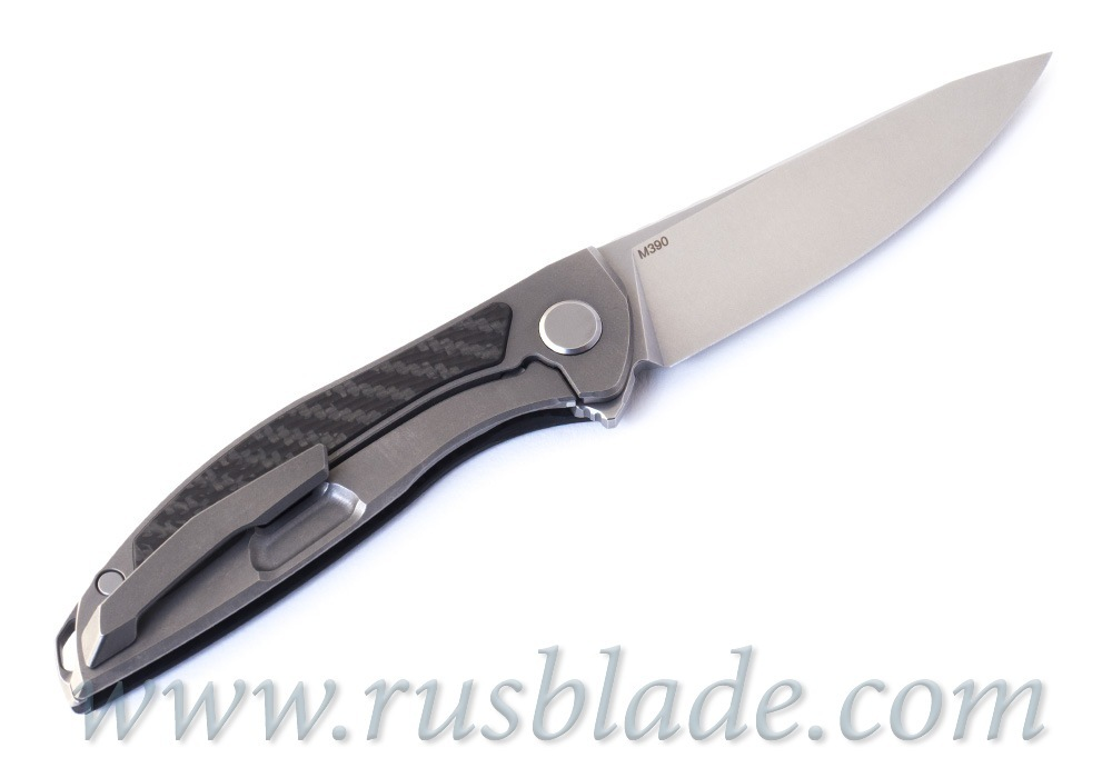 Shirogorov Hation Zero M390 CF inlay MRBS