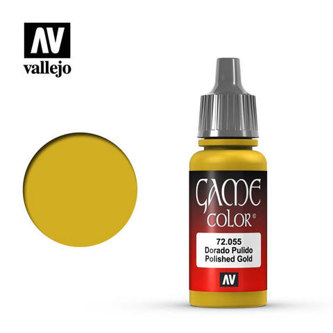 Game Color Polished Gold 17 ml.