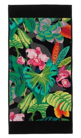 Полотенце 75x150 Feiler Rainforest 10 schwarz