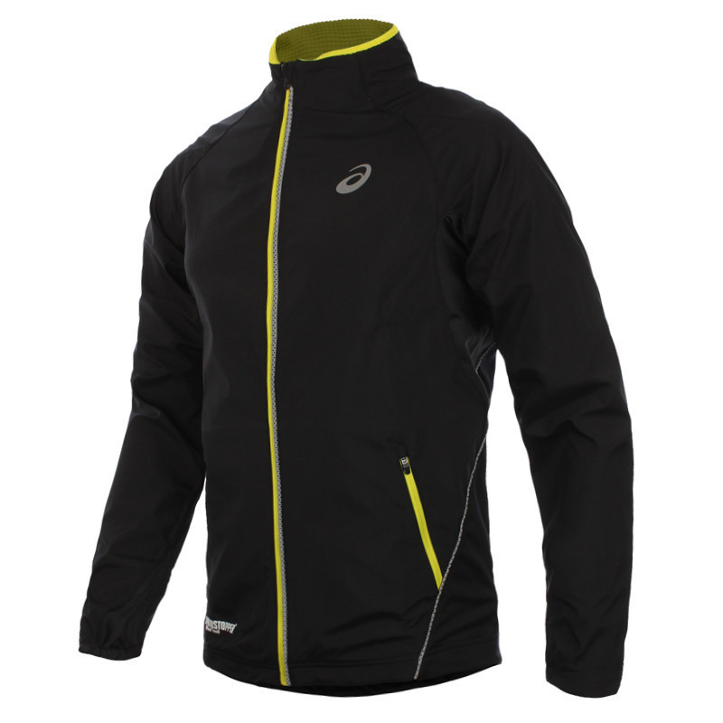 Беговая куртка мужская Asics Speed Gore Windstopper Black