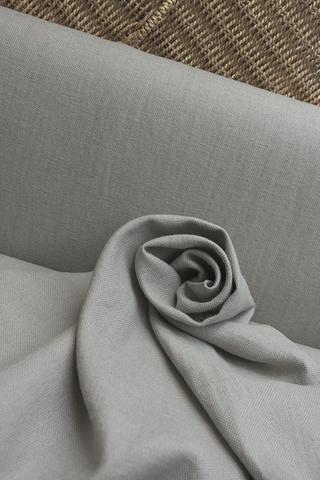 Широкая полульняная ткань цвет ФИСТАШКОВЫЙ