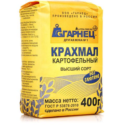 Гарнец, Картофельный крахмал без глютена, 500гр