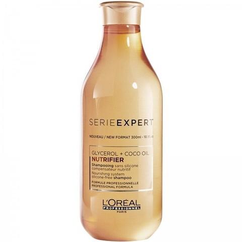 Питательный шампунь для сухих волос,Loreal Professionnel Nutrifier, 300 мл.