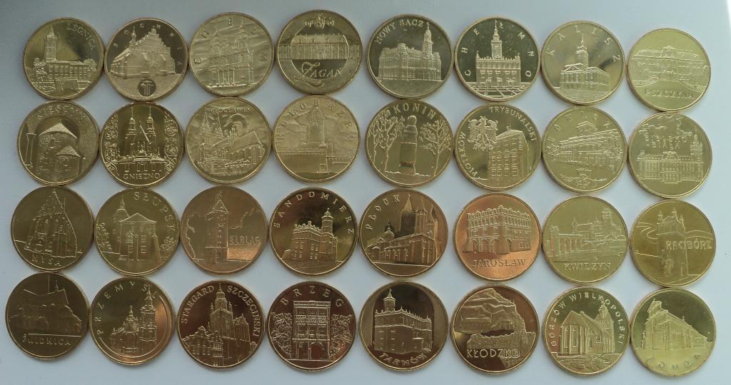 Набор монет на тему