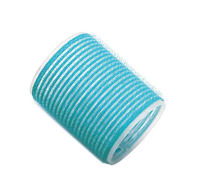 Бигуди-липучки голубые 56 мм, Sibel, 6 шт