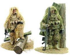 Милитари фигурка Снайпер — Military Sniper Elite 1/6 Figure