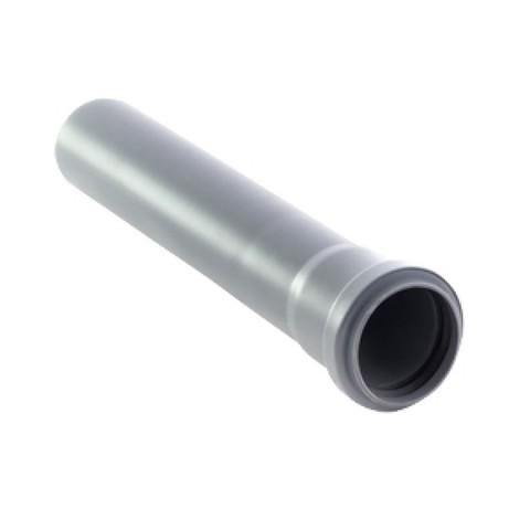 Канализационная труба Ø50х1000 мм Millenium
